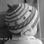 Newborn Silk/Wool Hat, Very Soft, W..
