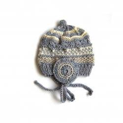 Newborn Silk/Wool Hat, Very Soft, Warm And Cosy